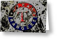 The Texas Rangers 6b Greeting Card