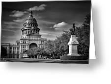 The Texas State Capitol Greeting Card