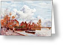 The Thames Greeting Card