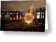 The Thames Orb Greeting Card