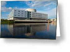 The Theatre Of Oulu 2 Greeting Card