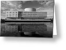 The Theatre Of Oulu  3 Greeting Card