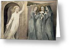 The Three Maries At The Sepulchre Greeting Card