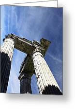 The Three Pillars Greeting Card