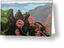 The Three Sisters Greeting Card
