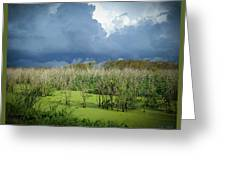 The Thunder Rolls Greeting Card
