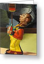 The Tin Juggler Greeting Card