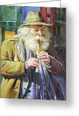 The Tin Whistle Greeting Card