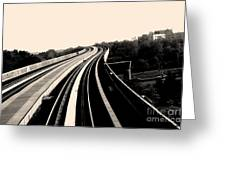 The To Do Track For Life Greeting Card