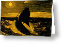 The Toilers Of The Sea Greeting Card