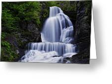 The Top Of Dingmans Falls Greeting Card