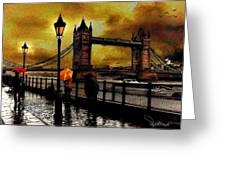 The Tower Bridge As I See Greeting Card