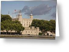 The Tower Of London. Greeting Card