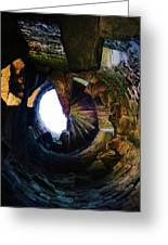 The Tower Stairs Greeting Card