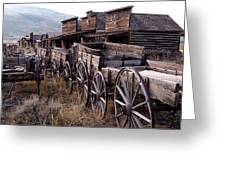 The Town Of Cody Wyoming Greeting Card