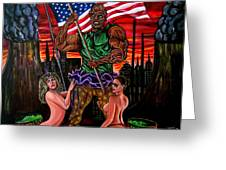 The Toxic Avenger Greeting Card
