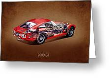 The Toyota 2000 Gt Greeting Card