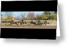 The Track - Thoroughbred Park - Lexington Kentucky Usa Greeting Card