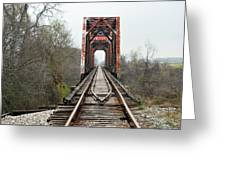 The Tracks Greeting Card