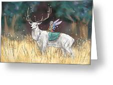 The Traveler Greeting Card by Brandy Woods