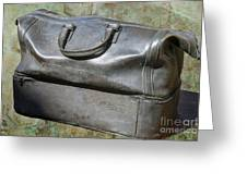 The Travellers Travel Bag Greeting Card