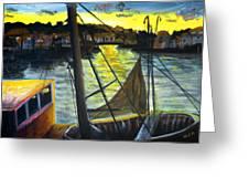 The Trawler Greeting Card