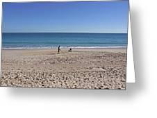 The Treasure Coast At Vero Beach In Florida Greeting Card