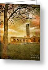 The Tree And The Bell Tower Greeting Card