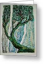 The Tree Energy Greeting Card