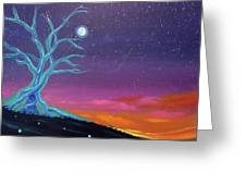 The Tree Of Energy Greeting Card