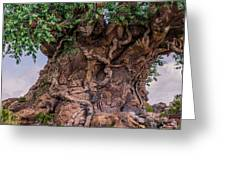 The Tree Of Life Close Greeting Card