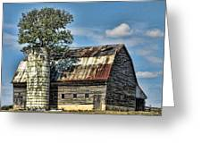 The Tree Silo Greeting Card