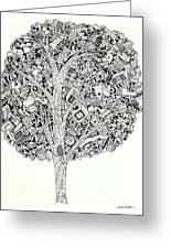 The Tree That Never Fails Greeting Card