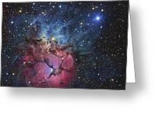 The Trifid Nebula Greeting Card