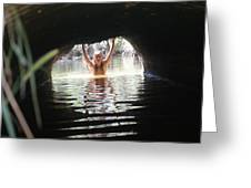 The Tunnel 4 Greeting Card