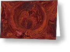 The Tunnel Red Greeting Card