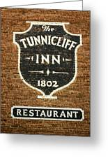 The Tunnicliff Inn - Cooperstown Greeting Card