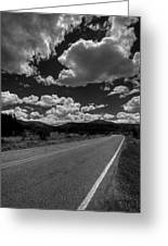 The Turquoise Trail Greeting Card