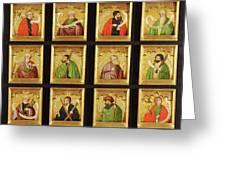 The Twelve Apostles Greeting Card