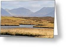 The Twelve Bens Mountains Connemara Ireland Greeting Card