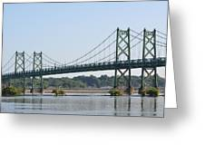 The Twin Bridges Greeting Card