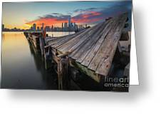 The Twisted Pier Greeting Card