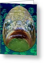 The Ugliest Fish Ever Greeting Card