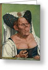 The Ugly Duchess, By Quentin Matsys Greeting Card