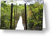 The Uncertain Path Greeting Card