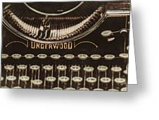 The Underwood Greeting Card