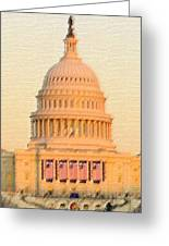 The United States Capitol Greeting Card