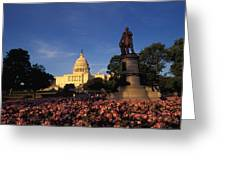 The United States Capitol, Washington Greeting Card