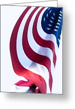 The United States Flag Greeting Card