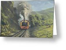 The Vale Of Rheidol Railway Greeting Card